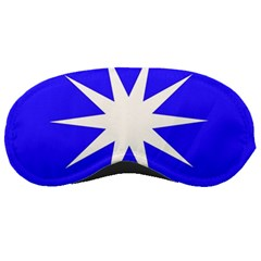 Deep Blue And White Star Sleeping Mask