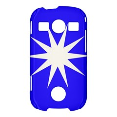 Deep Blue And White Star Samsung Galaxy S7710 Xcover 2 Hardshell Case