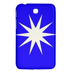 Deep Blue And White Star Samsung Galaxy Tab 3 (7 ) P3200 Hardshell Case