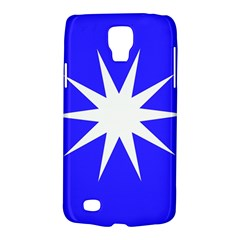Deep Blue And White Star Samsung Galaxy S4 Active (I9295) Hardshell Case