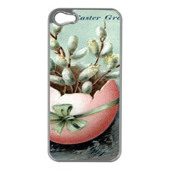 Victorian Easter  Apple iPhone 5 Case (Silver)