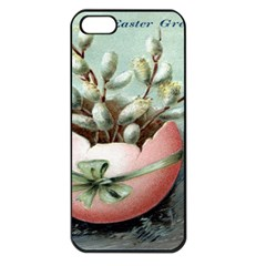 Victorian Easter  Apple iPhone 5 Seamless Case (Black)