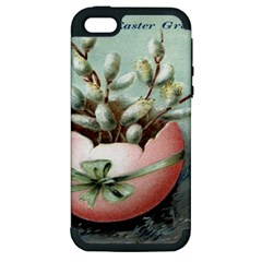 Victorian Easter  Apple iPhone 5 Hardshell Case (PC+Silicone)