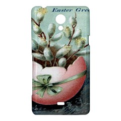 Victorian Easter  Sony Xperia T Hardshell Case