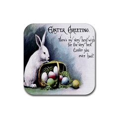 Victorian Easter  Drink Coasters 4 Pack (Square)
