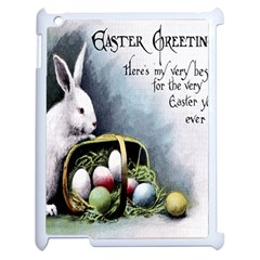 Victorian Easter  Apple iPad 2 Case (White)