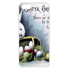 Victorian Easter  Apple iPhone 5 Seamless Case (White)