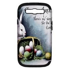 Victorian Easter  Samsung Galaxy S III Hardshell Case (PC+Silicone)