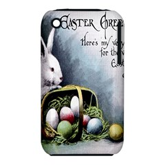 Victorian Easter  Apple iPhone 3G/3GS Hardshell Case (PC+Silicone)