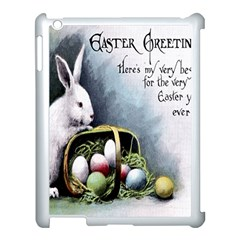 Victorian Easter  Apple iPad 3/4 Case (White)