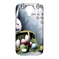 Victorian Easter  Samsung Galaxy S4 Classic Hardshell Case (PC+Silicone)