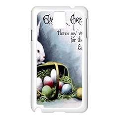 Victorian Easter  Samsung Galaxy Note 3 N9005 Case (White)