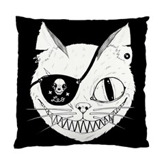 Cat Pirate s Life for Me Cushion Case (Single Sided)