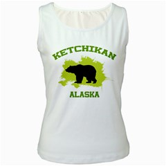 Ketchikan  Ak Women s Tank Top (white)