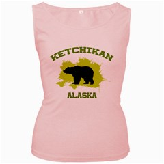 Ketchikan  Ak Women s Tank Top (pink)