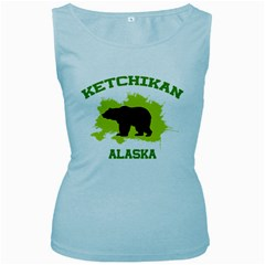 Ketchikan  Ak Women s Tank Top (Baby Blue)