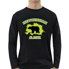 Ketchikan  Ak Men s Long Sleeve T-shirt (Dark Colored)
