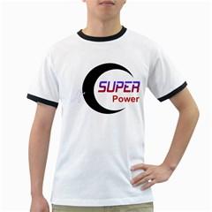 Super Power Men s Ringer T-shirt