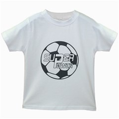 Super Power 2 Kids T Shirt (white)