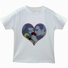 Lovers Kids T-shirt (White)