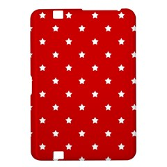 White Stars On Red Kindle Fire HD 8.9  Hardshell Case