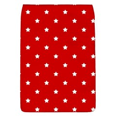 White Stars On Red Removable Flap Cover (Large)