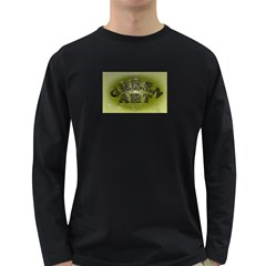 Greenart1 Men s Long Sleeve T Shirt (dark Colored)