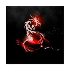 Abstract Red Dragon  Ceramic Tile