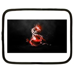 Abstract Red Dragon  Netbook Sleeve (XL)