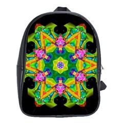 Kaleidoscope Smoke Art (11)2e School Bag (XL)