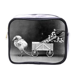 Victorian Easter Mini Travel Toiletry Bag (One Side)