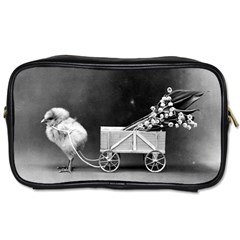 Victorian Easter Travel Toiletry Bag (One Side)