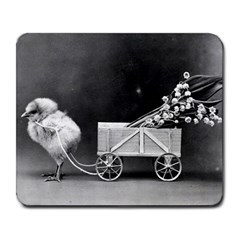Victorian Easter Large Mouse Pad (Rectangle)