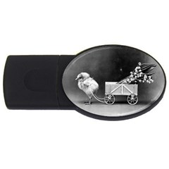 Victorian Easter 4GB USB Flash Drive (Oval)