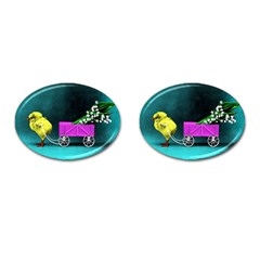 Victorian Easter Cufflinks (Oval)