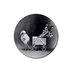 Victorian Easter Drink Coasters 4 Pack (Round)