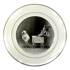Victorian Easter Porcelain Display Plate