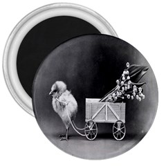 Victorian Easter 3  Button Magnet