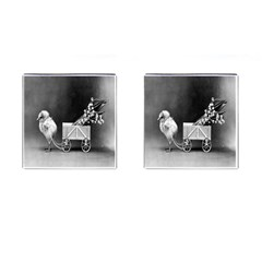 Victorian Easter Cufflinks (Square)