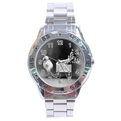 Victorian Easter Stainless Steel Watch