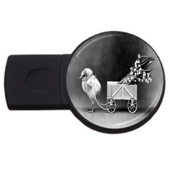 Victorian Easter 4GB USB Flash Drive (Round)