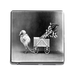 Victorian Easter Memory Card Reader with Storage (Square)