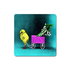 Victorian Easter Magnet (Square)