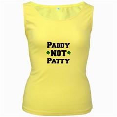 Paddynotpatty Women s Tank Top (Yellow)