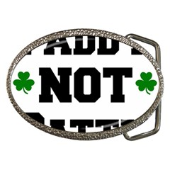 Paddynotpatty Belt Buckle (oval)