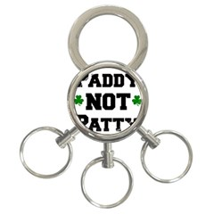 Paddynotpatty 3-Ring Key Chain