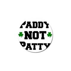 Paddynotpatty Golf Ball Marker