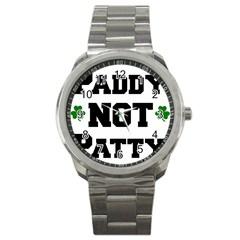 Paddynotpatty Sport Metal Watch