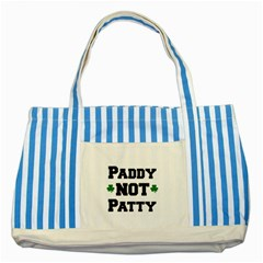 Paddynotpatty Blue Striped Tote Bag