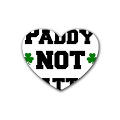 Paddynotpatty Drink Coasters (Heart)